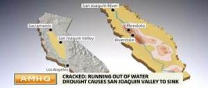 California's Central Valley Sinking